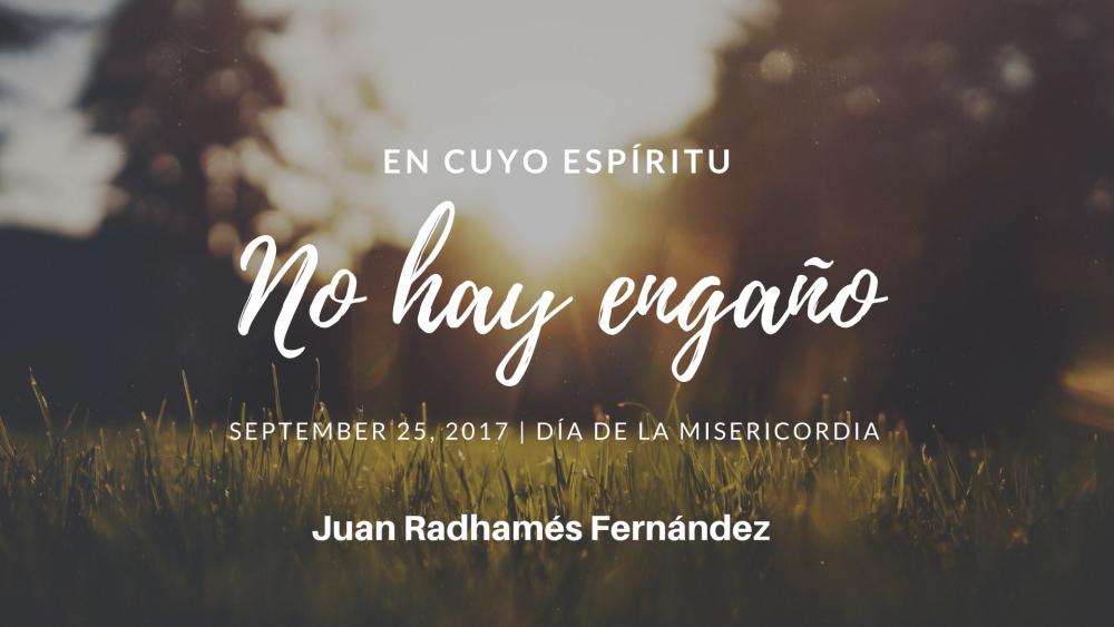 En Cuyo Espíritu no hay Engaño (Solo Audio) Image