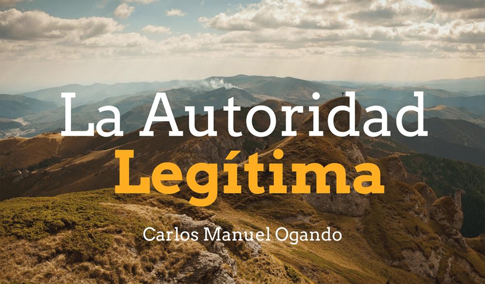 La Autoridad Legítima
