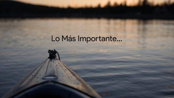 Lo Más Importante #1 Image