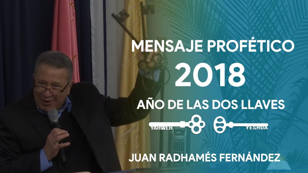 Mensaje Profético 2018: Año de Liberación, y Nuevo Comienzo Image