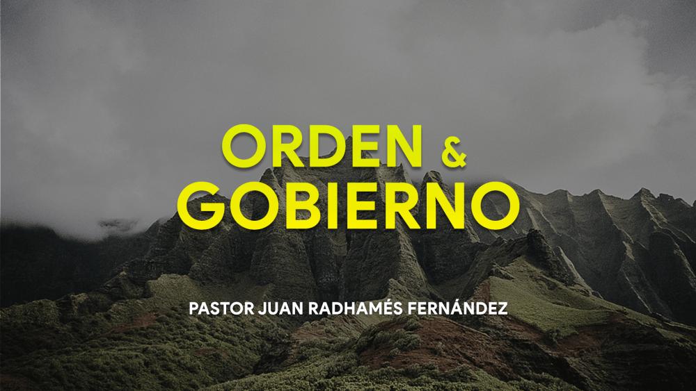 Orden Y Gobierno #2 - Aun Dios Respeta Su autoridad Image