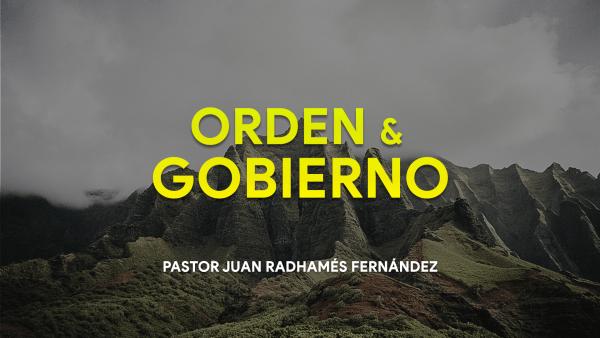 Orden Y Gobierno #1 - No hay autoridad sino de parte de Dios Image